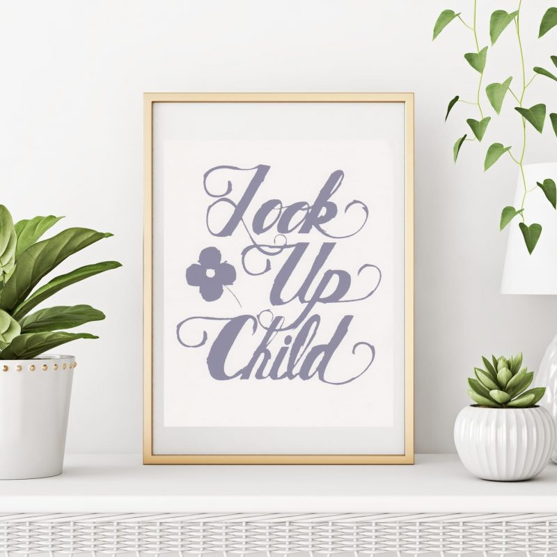 Look-Up-Poster